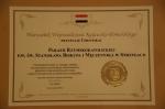 Certyfikat do Marszałka woj. Kuj-Pom. dla naszej parafii